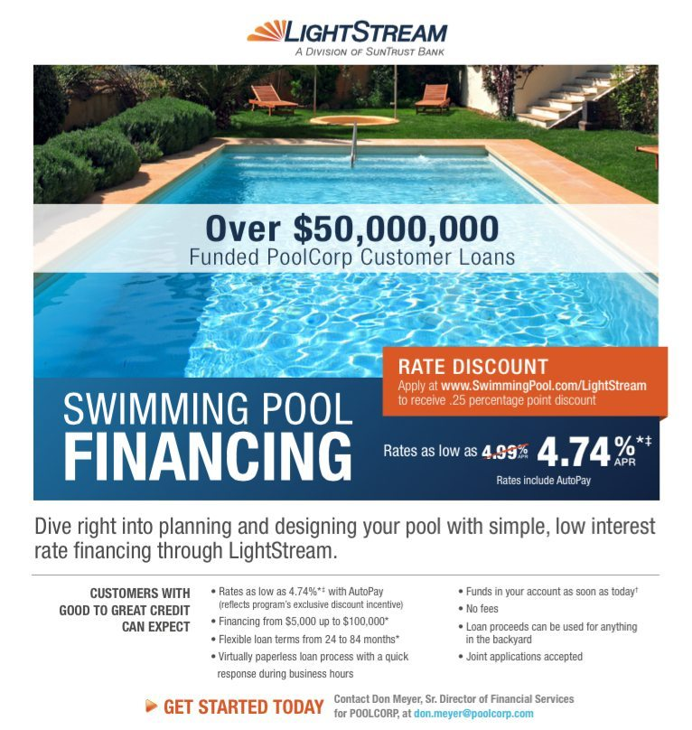 Pool Financing Information